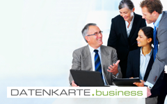 Datenkarte Business